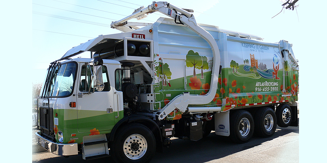Atlas Disposal has 17 CNG-fueled Autocar trucks out of a total fleet of about 55 vehicles, and has just ordered four more.
